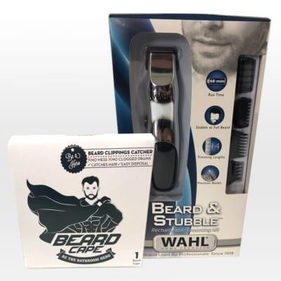 Beard Cape-Wahl Beard Trimmer