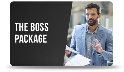 The Boss Gift Card Package Image